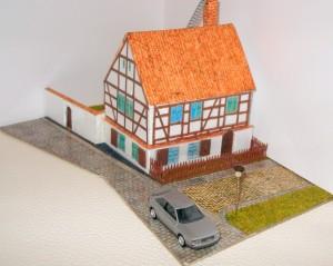 Vision vom Fachwerkhaus Burgstraße 9 in Spremberg