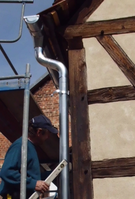Dachentwässerung 2012
