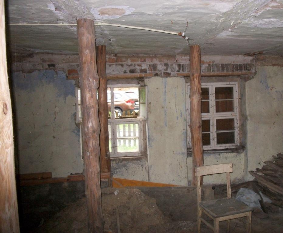 Decke Wohnküche 2011